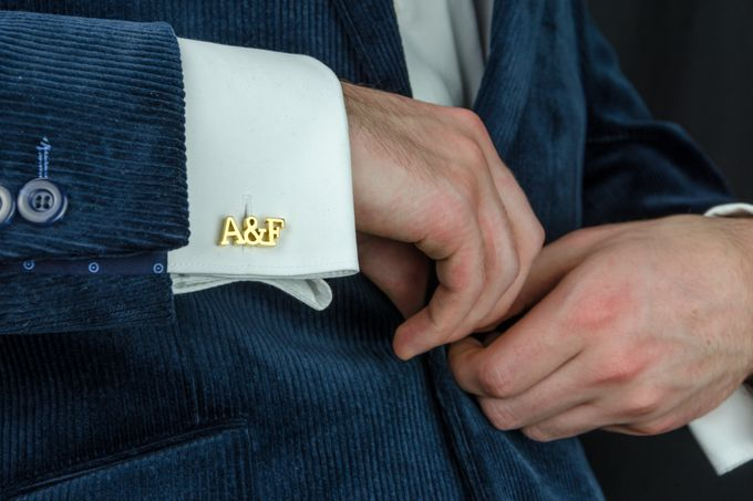 Custom Groom Cufflinks by Gregson & Buck - 006