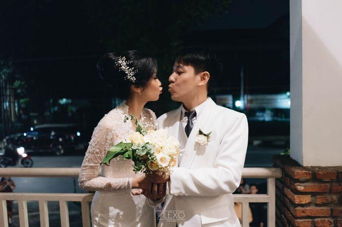 Akad Nikah of Sasha & Andhika by Double Happiness Wedding Organizer - 001