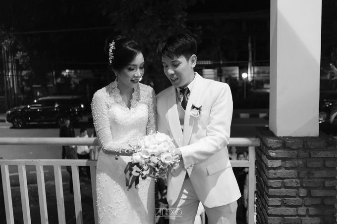Akad Nikah of Sasha & Andhika by Double Happiness Wedding Organizer - 003
