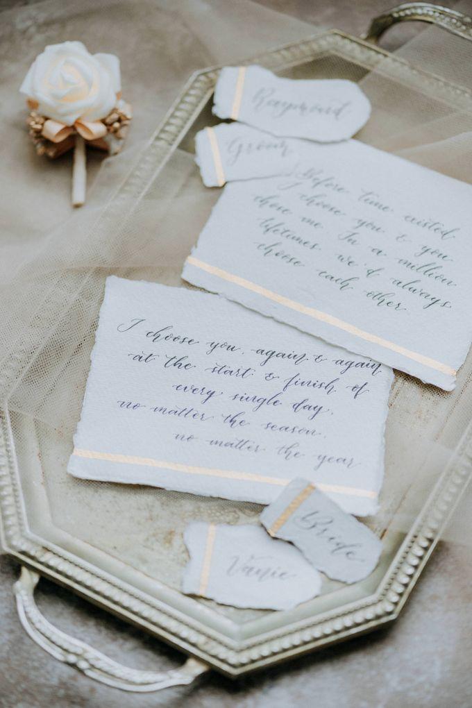 Raymond & Vanie Wedding Day by Keyva Photography - 003