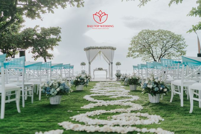 Wonderful Beach Wedding by Bali Top Wedding - 002