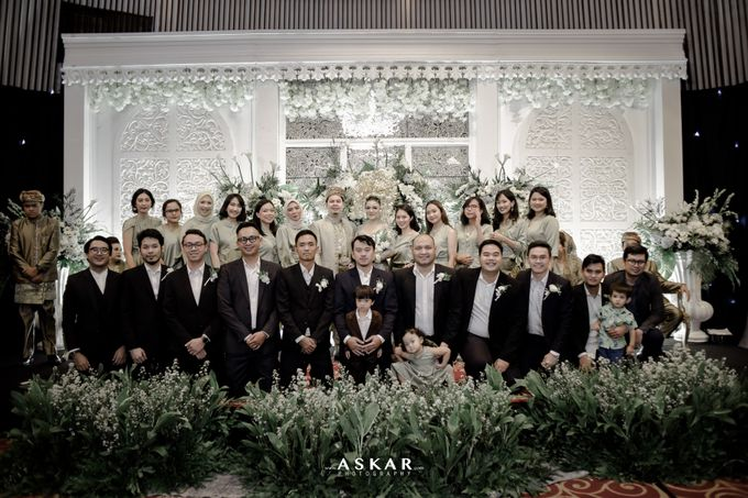 The Wedding Of nadine & Adam by redberry wedding - 043