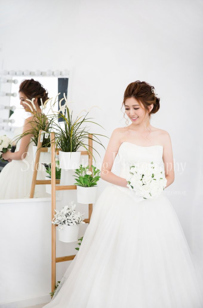 Brides by LING Chia Makeup & Hairstyling - 011