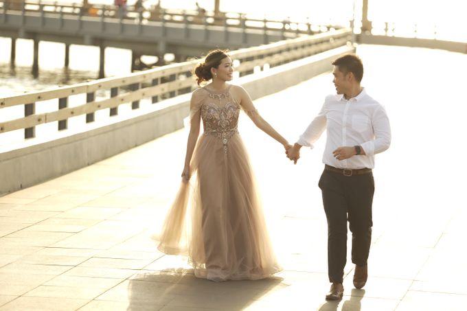 Shinta and Aldo Prewedding by Michelle Bridal - 003