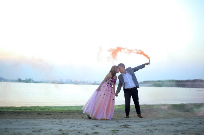 Shinta and Aldo Prewedding by Michelle Bridal - 005