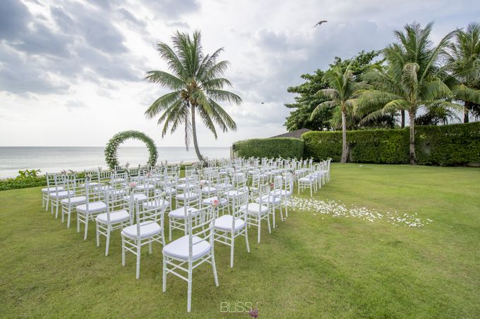 Zen & Tim wedding at Sava beach villas Natai beach by BLISS Events & Weddings Thailand - 001