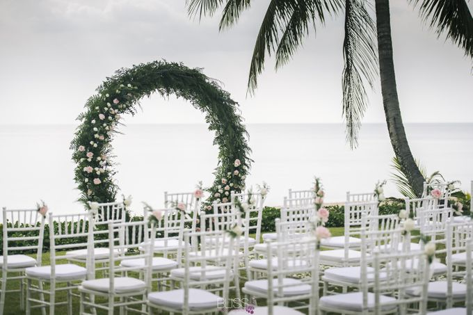 Zen & Tim wedding at Sava beach villas Natai beach by BLISS Events & Weddings Thailand - 003