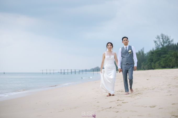 Zen & Tim wedding at Sava beach villas Natai beach by BLISS Events & Weddings Thailand - 006