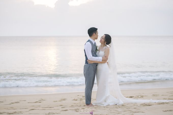 Zen & Tim wedding at Sava beach villas Natai beach by BLISS Events & Weddings Thailand - 007