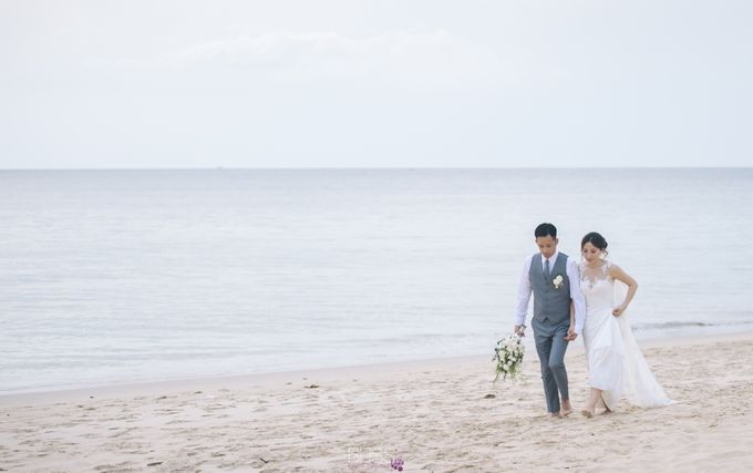 Zen & Tim wedding at Sava beach villas Natai beach by BLISS Events & Weddings Thailand - 008