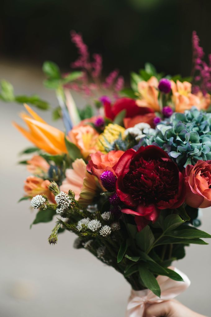 Rustic Eclectic Bouquet by Petalfoo - 005