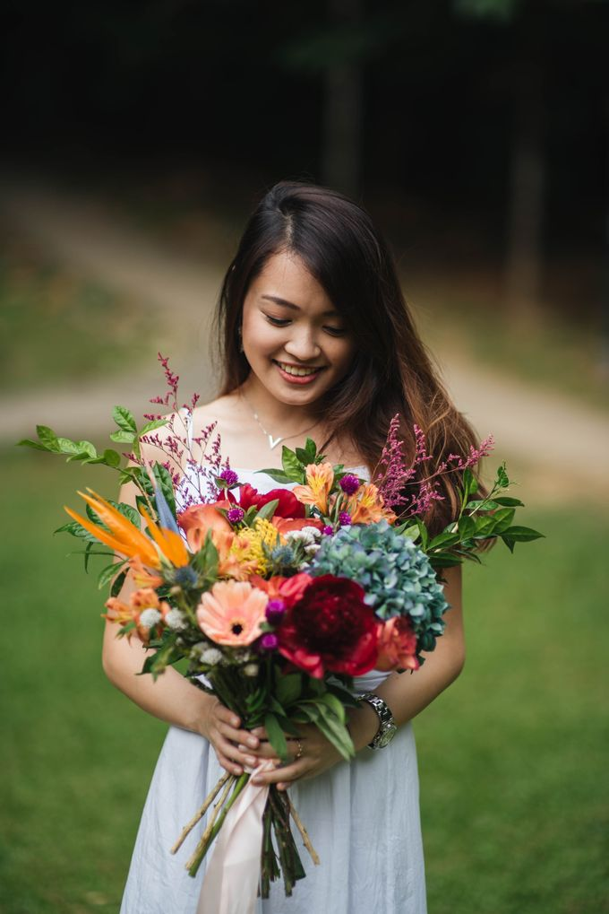 Rustic Eclectic Bouquet by Petalfoo - 001