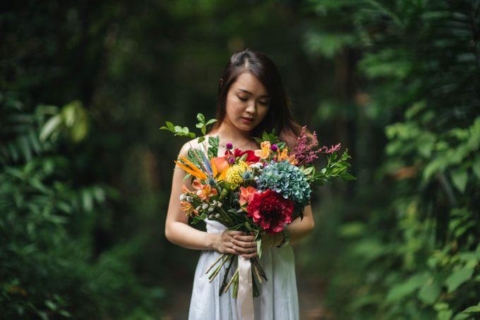 Rustic Eclectic Bouquet by Petalfoo - 003