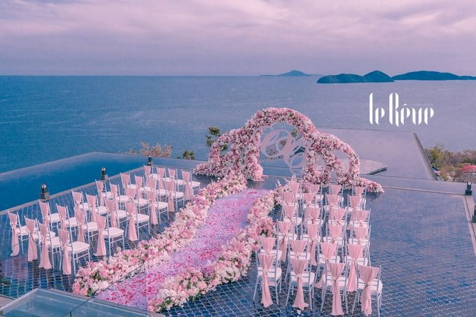 When the Sky Meets the Ocean by Le Rêve Events International - 001