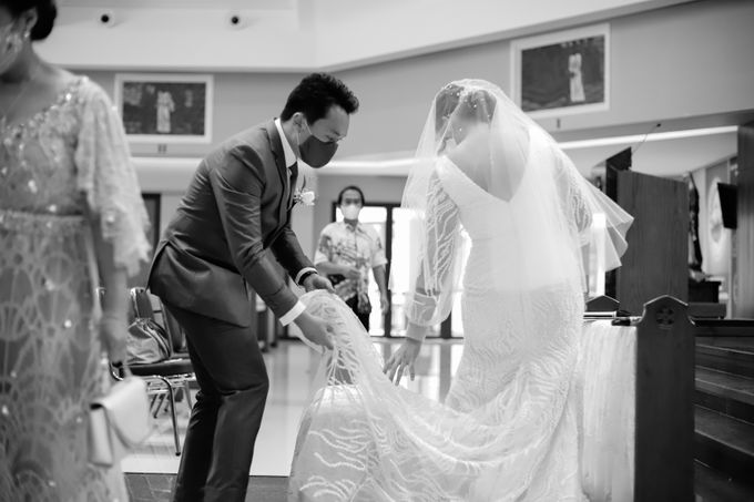 Genoveva & Jeremiah Wedding at The Avani BSD by Mirza Photography - 001
