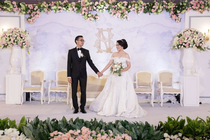 Stephen & Tania Wedding by Wong Hang Distinguished Tailor - 001