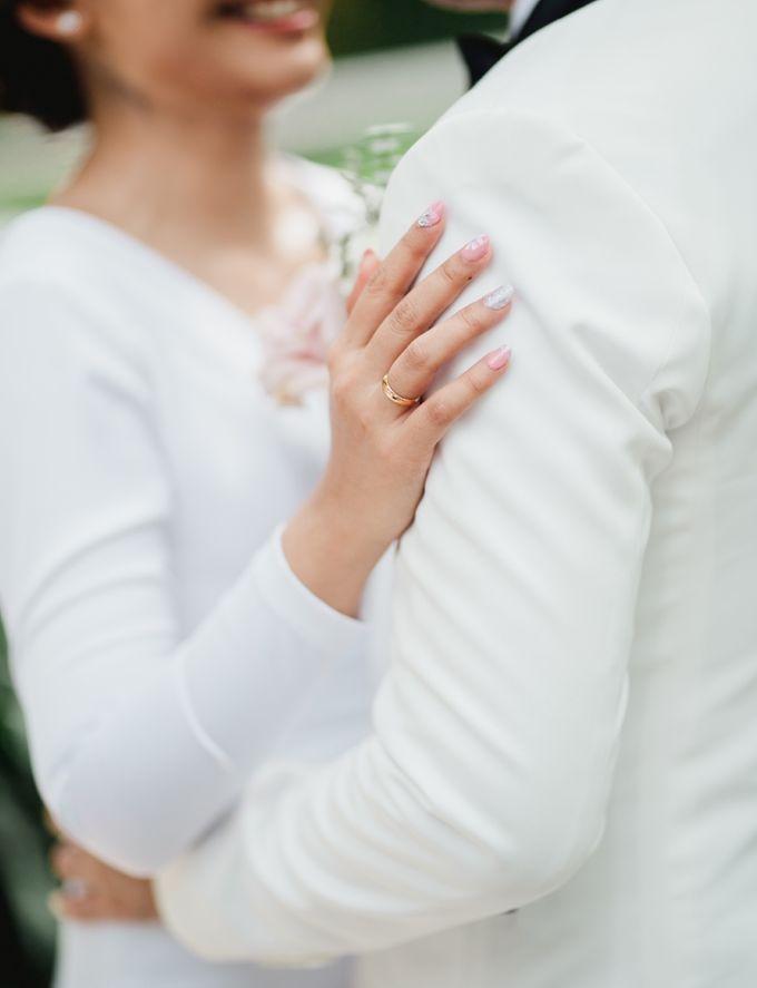 Intimate Bali Wedding of Willy & Dewi by Lentera Wedding - 005