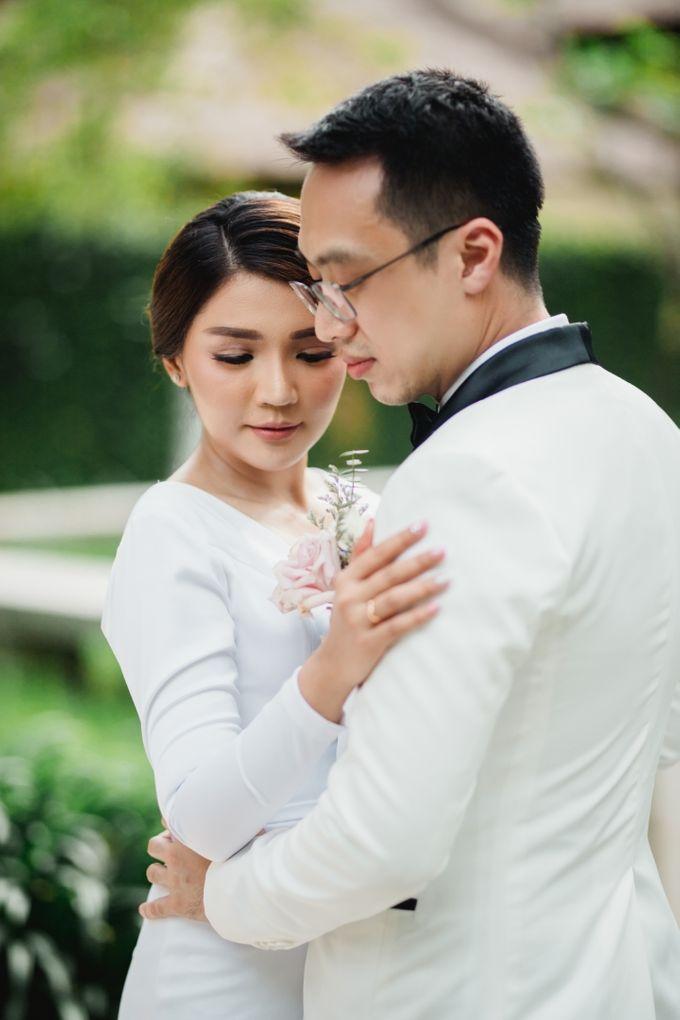 Intimate Bali Wedding of Willy & Dewi by Lentera Wedding - 006