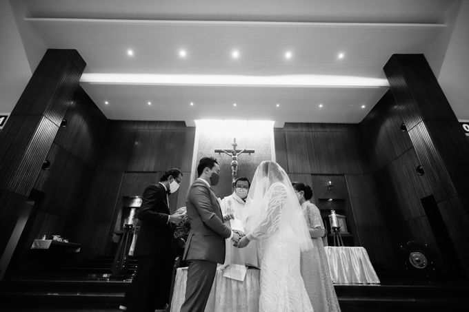 Genoveva & Jeremiah Wedding at The Avani BSD by Mirza Photography - 004