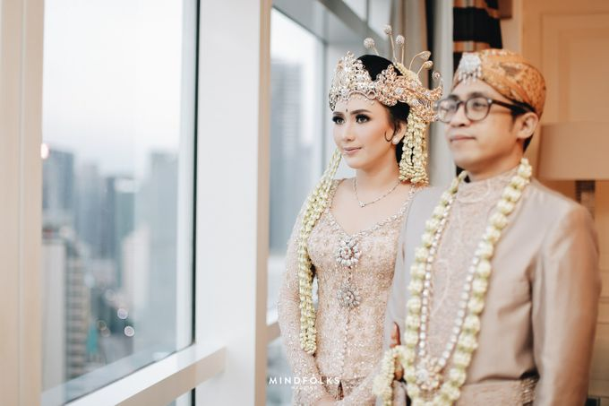 ZIA & DWI - WEDDING RECEPTION by Amarillis Floral and Party Decorator - 001