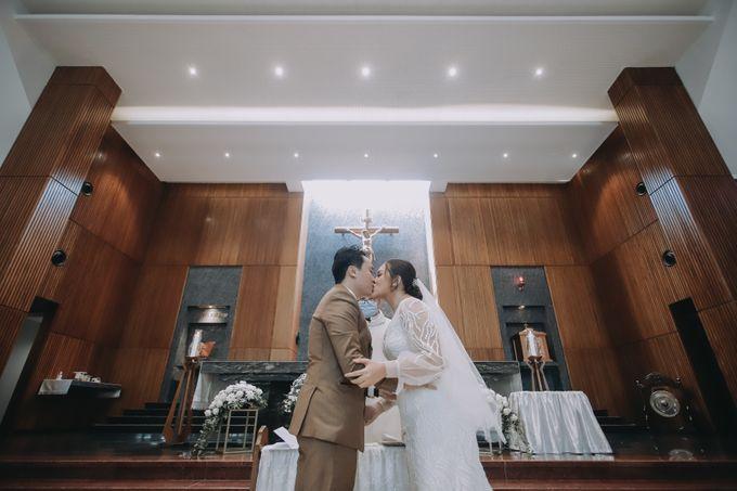 Genoveva & Jeremiah Wedding at The Avani BSD by Mirza Photography - 005
