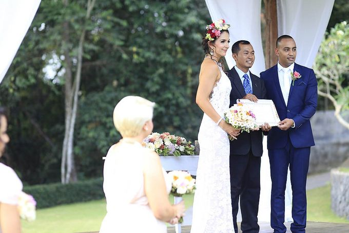 Wedding at Villa The Sanctuary in Canggu by Bali Tie d' Knot - 008