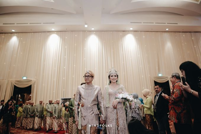 ZIA & DWI - WEDDING RECEPTION by Amarillis Floral and Party Decorator - 002