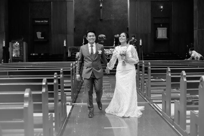 Genoveva & Jeremiah Wedding at The Avani BSD by Mirza Photography - 010
