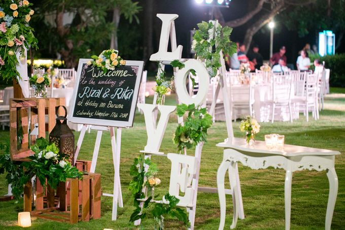 Rizal & Rika Wedding by Holiday Inn Resort Baruna Bali - 005