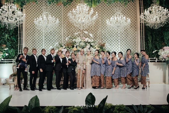 ZIA & DWI - WEDDING RECEPTION by Amarillis Floral and Party Decorator - 012