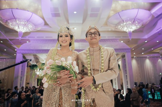 ZIA & DWI - WEDDING RECEPTION by Amarillis Floral and Party Decorator - 010