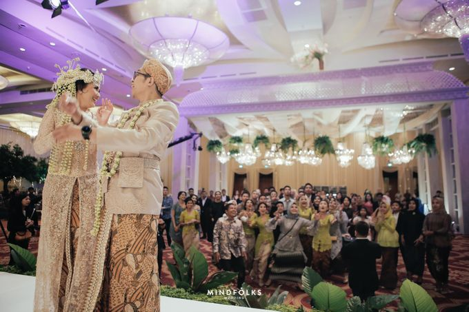 ZIA & DWI - WEDDING RECEPTION by Amarillis Floral and Party Decorator - 011