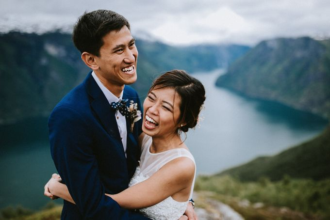 Grace & Ronnie - Elopement in Norway by Assemblage Photography - 003