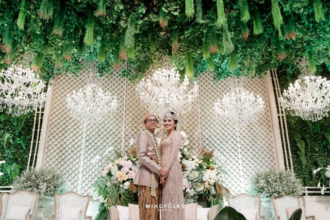 ZIA & DWI - WEDDING RECEPTION by Amarillis Floral and Party Decorator - 013