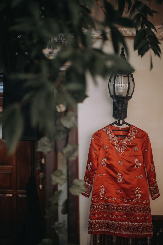Venisya & Dimas Wedding at Home, Jakarta by Mirza Photography - 002