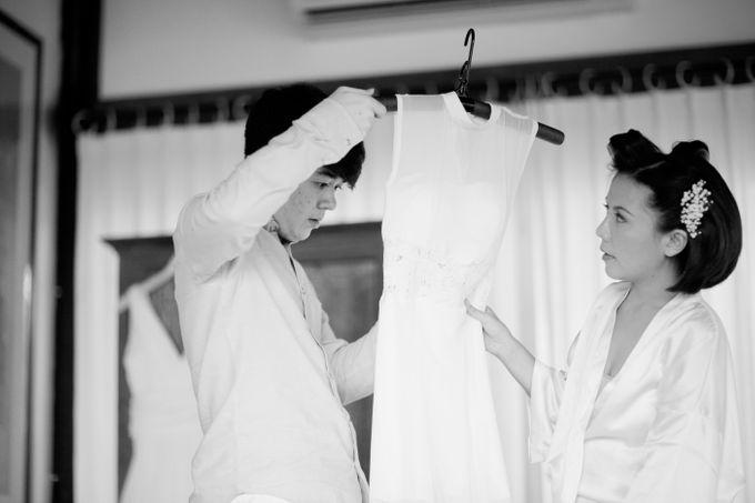 The Wedding of Ivi & Ian by Ahava by Bona Soetirto - 012