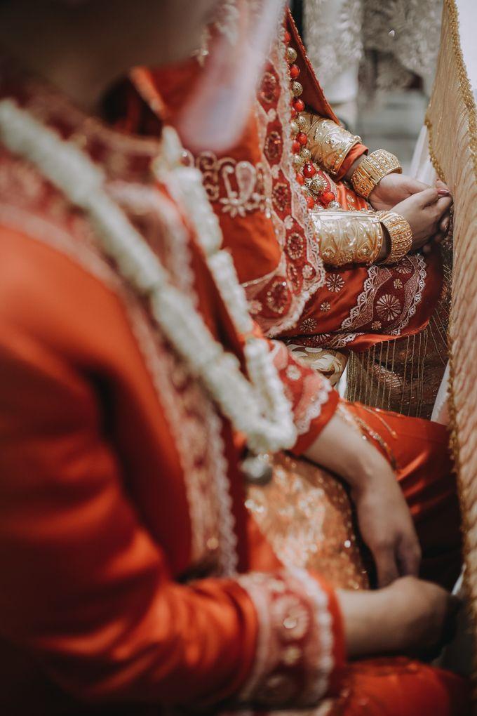 Venisya & Dimas Wedding at Home, Jakarta by Mirza Photography - 009