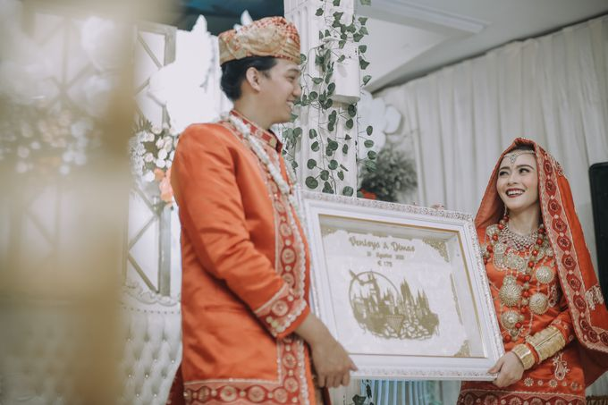 Venisya & Dimas Wedding at Home, Jakarta by Mirza Photography - 013