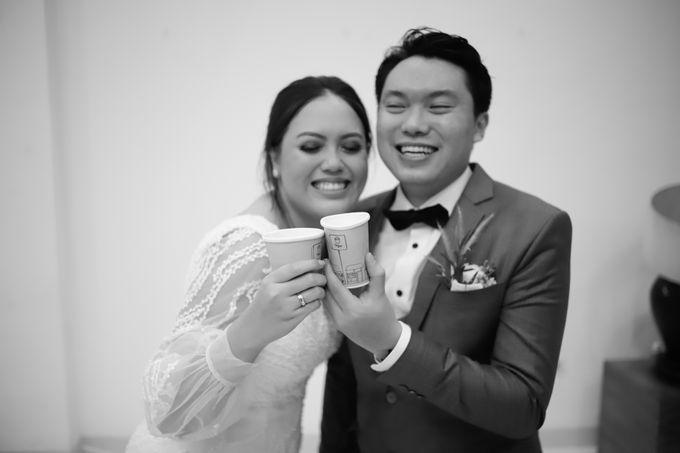 Genoveva & Jeremiah Wedding at The Avani BSD by Mirza Photography - 013