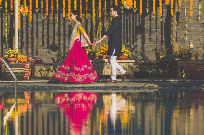 A CHIC FRENCH GUJARATI INTIMATE WEDDING by destination  photographers - 004