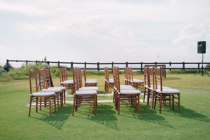 Sweet Rustic Wedding at New Kuta Golf & Villa Bayu Bali by Silverdust Decoration - 022