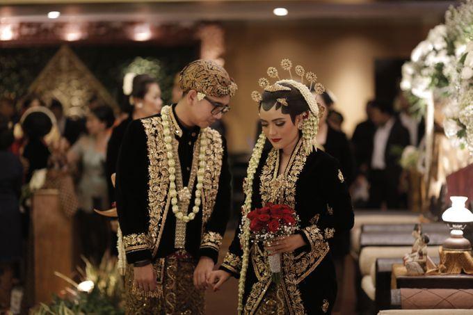 Arini & Ariel Wedding by Hotel Borobudur Jakarta - 009