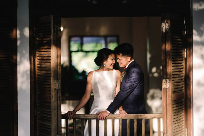 Neal & Pat Wedding at Antonios Tagaytay by Honeycomb PhotoCinema - 005