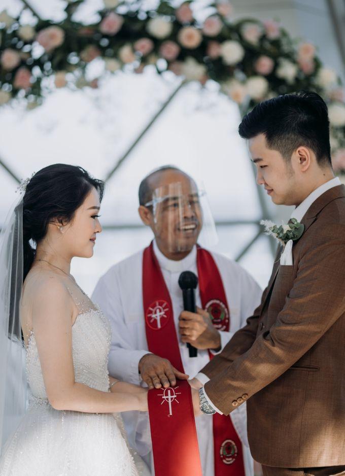 Bali Wedding of Dennis & Megan by Lentera Wedding - 022