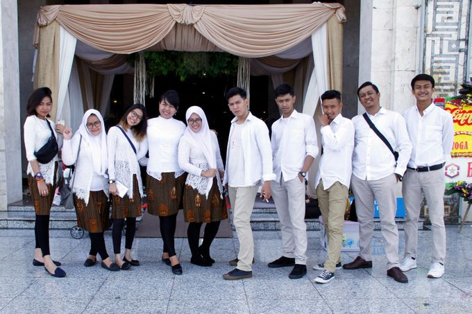 our team from the wedding of yoga & riva wedding by Our Wedding & Event Organizer - 039