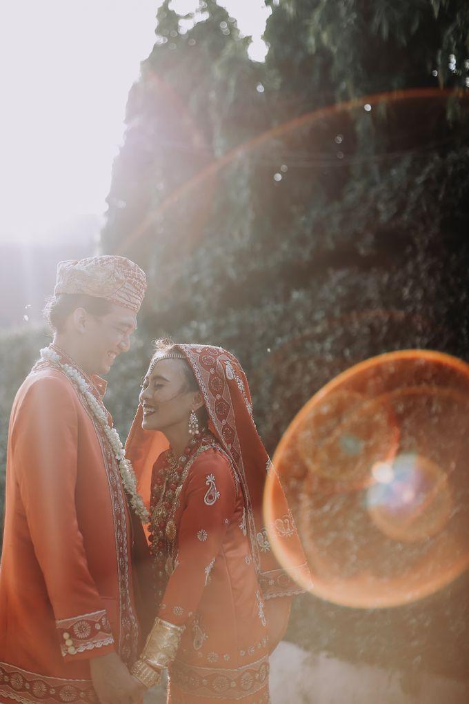 Venisya & Dimas Wedding at Home, Jakarta by Mirza Photography - 001
