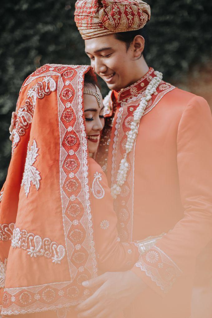 Venisya & Dimas Wedding at Home, Jakarta by Mirza Photography - 019