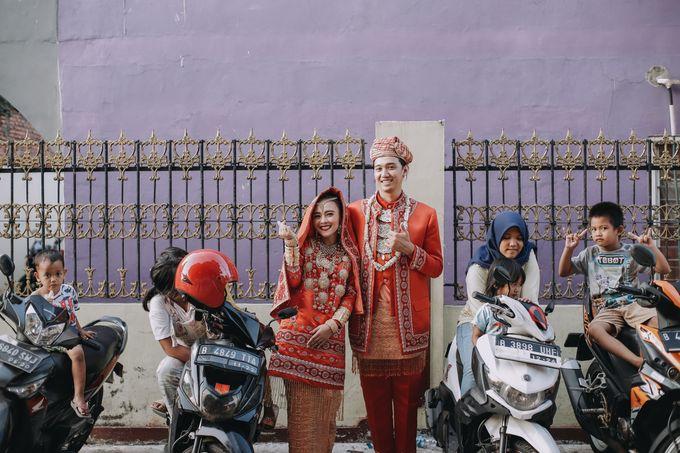 Venisya & Dimas Wedding at Home, Jakarta by Mirza Photography - 015