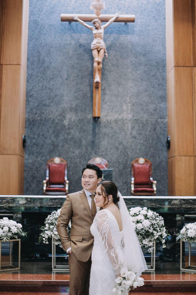 Genoveva & Jeremiah Wedding at The Avani BSD by Mirza Photography - 019