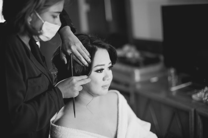 Celebrations in Rustic Theme - Hanny & Irma Wedding by Lis Make Up - 001